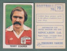 Bristol City Terry Cooper England